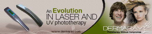 Dermaray Laser the most powerful and safest laser hair loss comb.