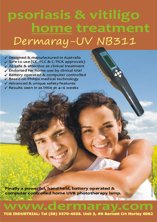 A)Dermaray UV 311 Wand