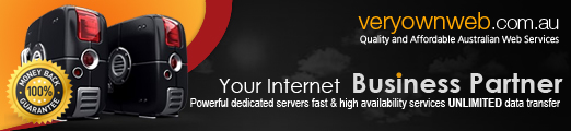 Web design and web page hosting Perth Western Australia.